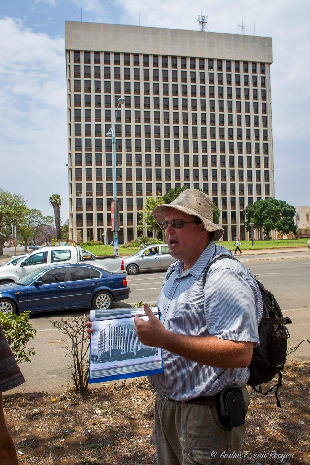 Bulawayo of Yesteryear Tour - Tower Block